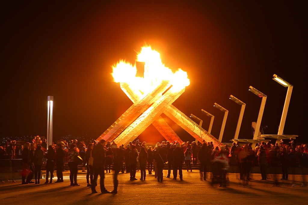 Olympic Cauldron Relit for Sochi Winter Games 2014 Feb 21st 12690365295