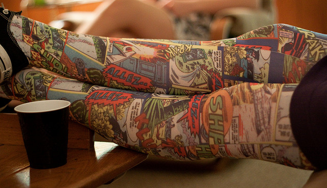 Superhero tights