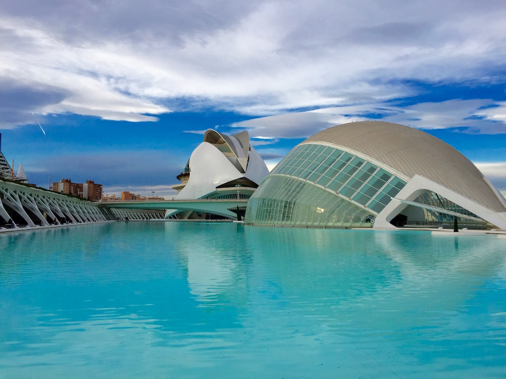 City of Arts and Sciences in Valencia by day