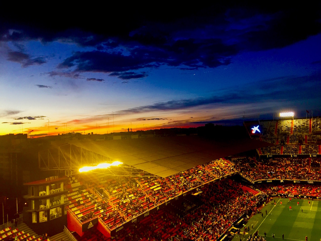 Mestalla sunset