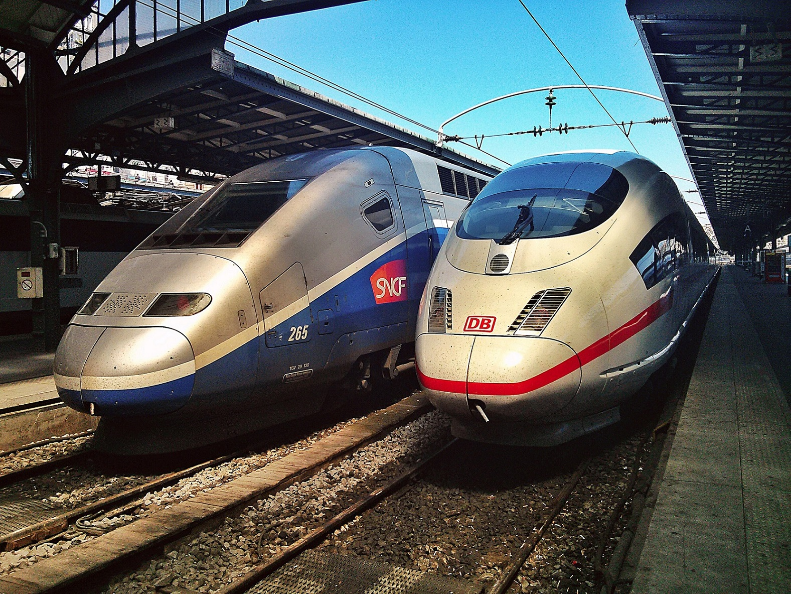 french german trains